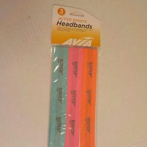 Avia 3 Active Headbands Sports
